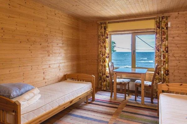 Ferienhof Vaino, Zimmer mit Blick auf den See