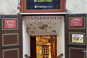 Õllepood nr.1 Gambrinus (Ölbutiken nummer ett)