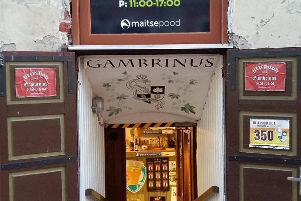 Õllepood nr.1 Gambrinus