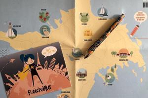 Приключенческая игра и хийумааская карта воспоминаний «Моя тропа»