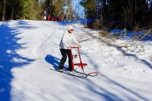 Поход на финских санях «По следам «Последней реликвии»