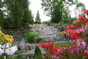 Пешая прогулка по историческому городу Тарту: цветы, цветущие в ботаническом саду Тартуского университета