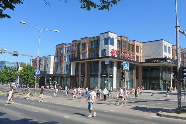 Торговый центр Kvartal в центре города