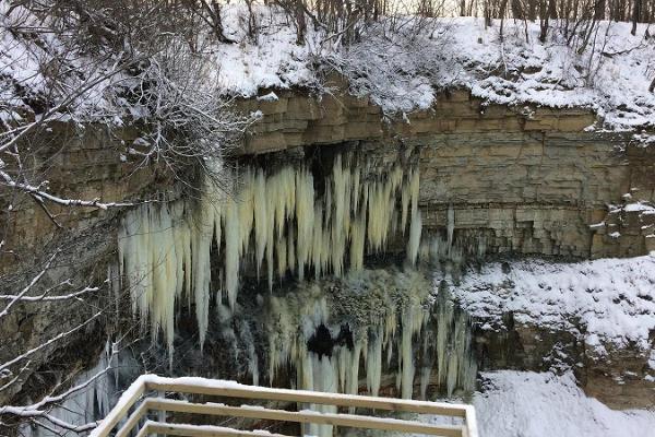 Retk talvistele jugadele pankrannikul