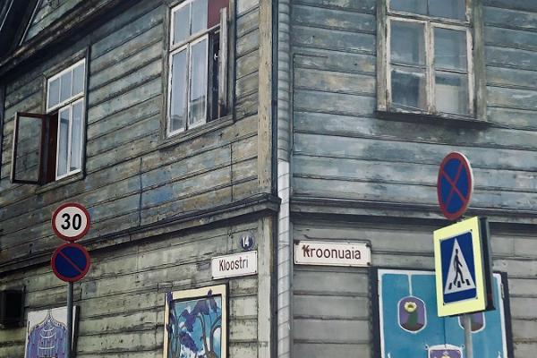 Tänavakunstituur Tartu vanalinnas