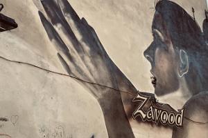 Street art tour in the Old Town of Tartu