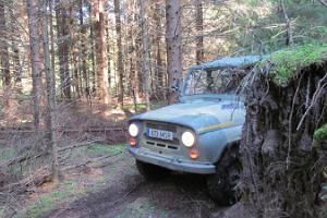 Off-road adventures in Kõrvemaa