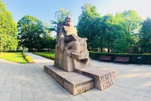 Jakob Hurda monument