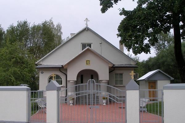 Das EVKL Gebetshaus der Altgläubigen in Tartu