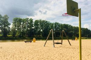 Idrotts- och lekplatsen vid Emajõe Stadsbassäng