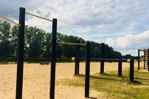 Sport- und Spielplatz des Stadtschwimmbades am Emajõgi