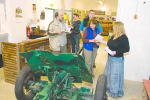 Educational adventure 'Time Travel: 1944 evacuation' at the Vaivara Blue Hills Museum