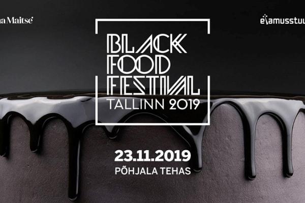 Black Food Festival in Tallinn