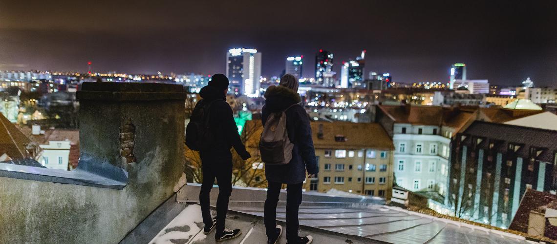 Auf Tallinns Dächern