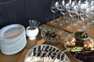 Champagnebaren och restaurangen KORK