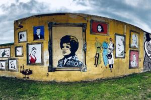Street art tour in Karlova