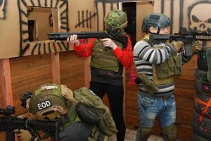 Военные приключения в страйкболе в Тарту