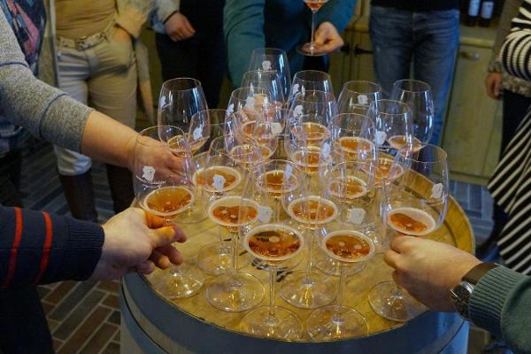 Начальный курс по приготовлению крафтового вина в винном погребе Murimäe