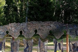 Baltic Chain Memorial in Lilli