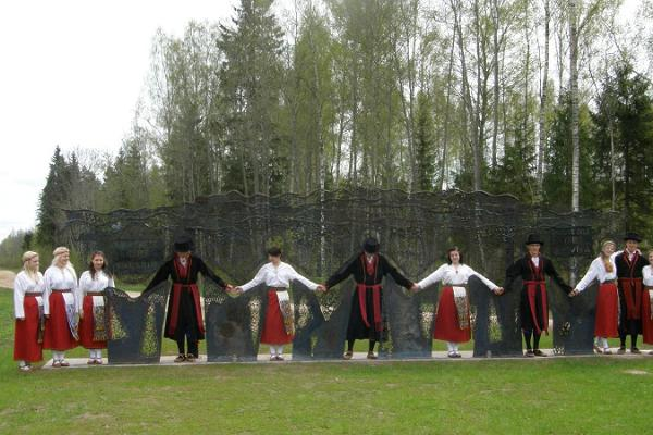 Памятник Балтийскому пути в Лилли