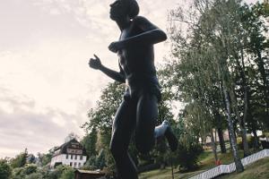 """Skulptūra """"Jooksja"""""""