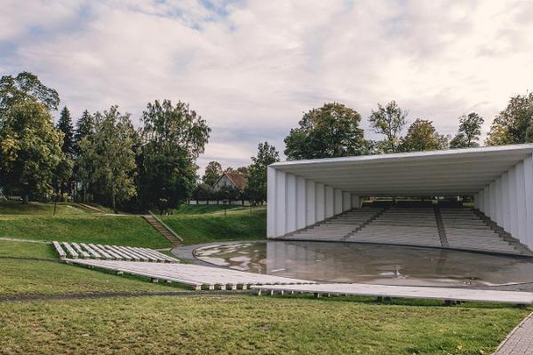 Die Sängerbühne von Viljandi