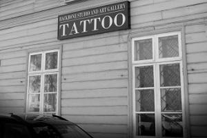 Backbone Tattoo kunstigalerii