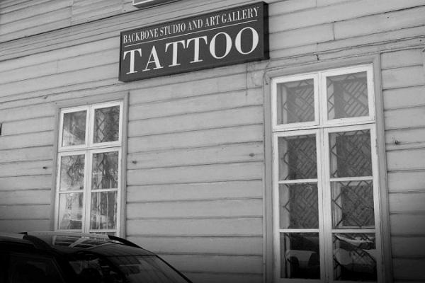 Backbone Tattoo -taidegalleria