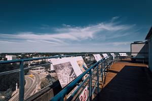 Plasku rooftop observation platform