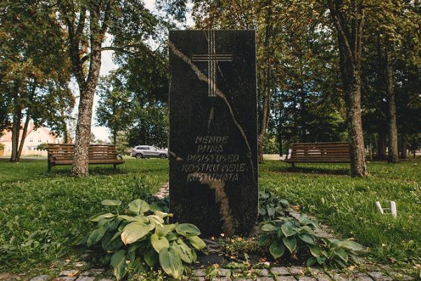 Denkmal für die Verfolgten des sowjetischen Regimes
