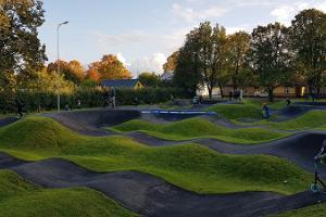 Children's park in Viljandi