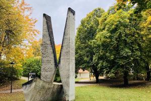 Friedrich Georg Wilhelm Struve monument