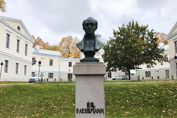 Fr. R. Faehlmanni monument