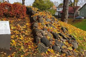 Mittelalterliche Stadtmauer von Viljandi