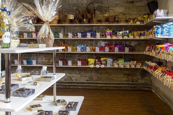 Schokoladengeschäft von Kalev in Kuressaare
