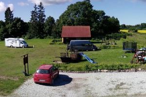 Husvagnsparken i Rannamõisa semesterby
