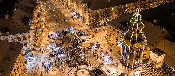 С ноября по самый январь в Эстонии работают рождественские рынки