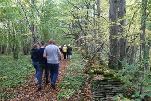 Nature hike on the Muuksi–Tsitre trails