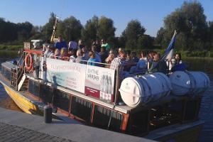 Trip on board riverboat M/L Alfa on River Emajõgi