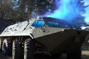 Motor paintball i en gammal Rysk militär enhet i Tallinn
