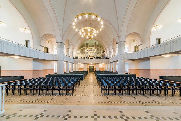 Die Krypta der Pauluskirche in Tartu