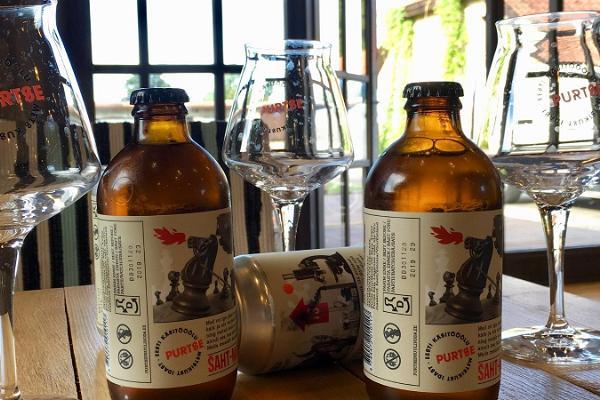 Guided tour of Purtse Brewery and Mekituba Shop
