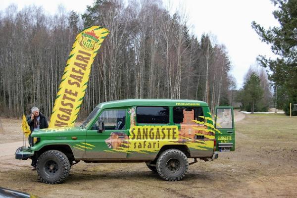 Sangaste Safari jeep