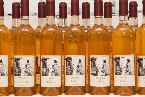 Habajas Degvīna fabrikas amatniecības vīnu degustācija