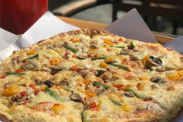 Pizza Grande в исторической части Хаапсалу