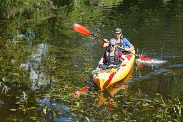Canoe and kayak trips on River Mädajõgi