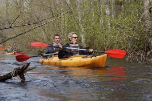 One-day canoe and kayak trips on the Võhandu Pühajõgi