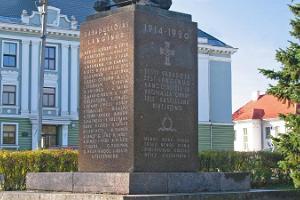 Vapaussodan muistopatsas Vastseliinassa