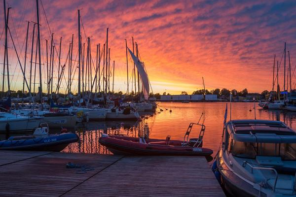 Jachthafen Pärnu