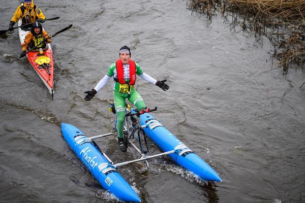 Võhandun maratonin vesiretkeilyreitti